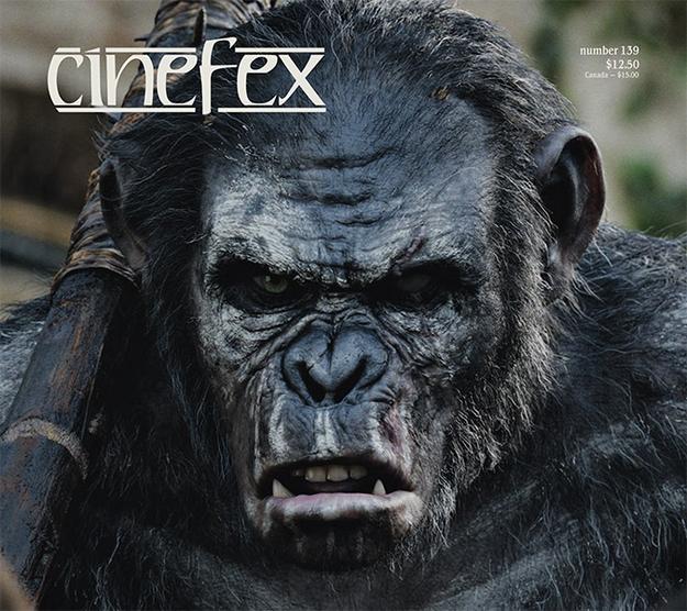 La planète des singes : l'affrontement - Cinefex