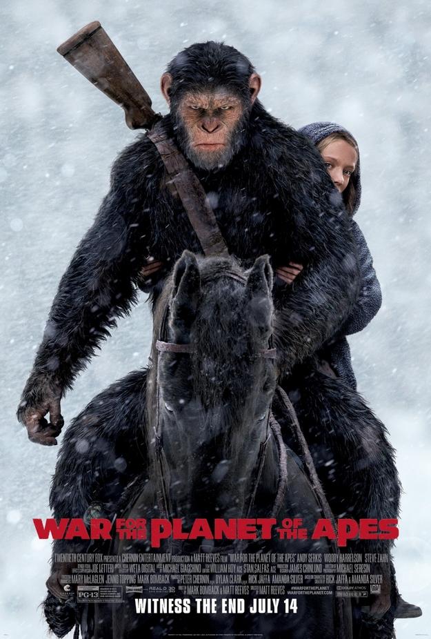 La planète des singes suprématie - affiche