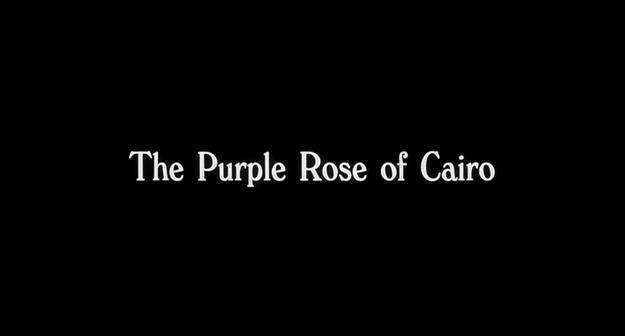 La rose pourpre du Caire - générique