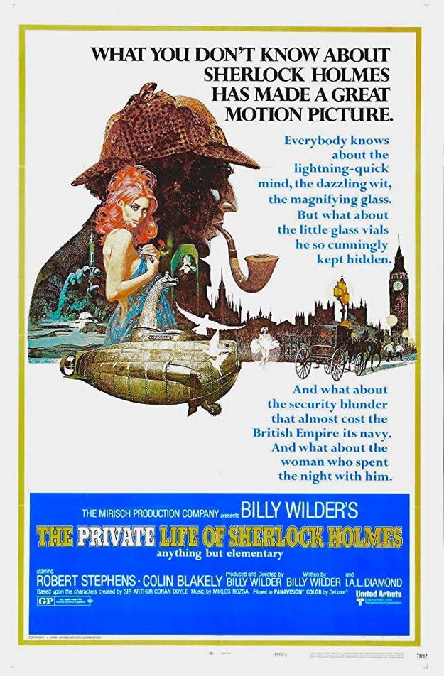 La vie privée de Sherlock Holmes - affiche