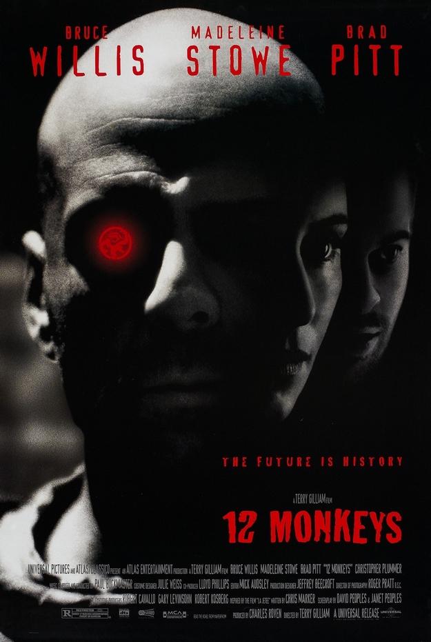 armée des 12 singes - affiche