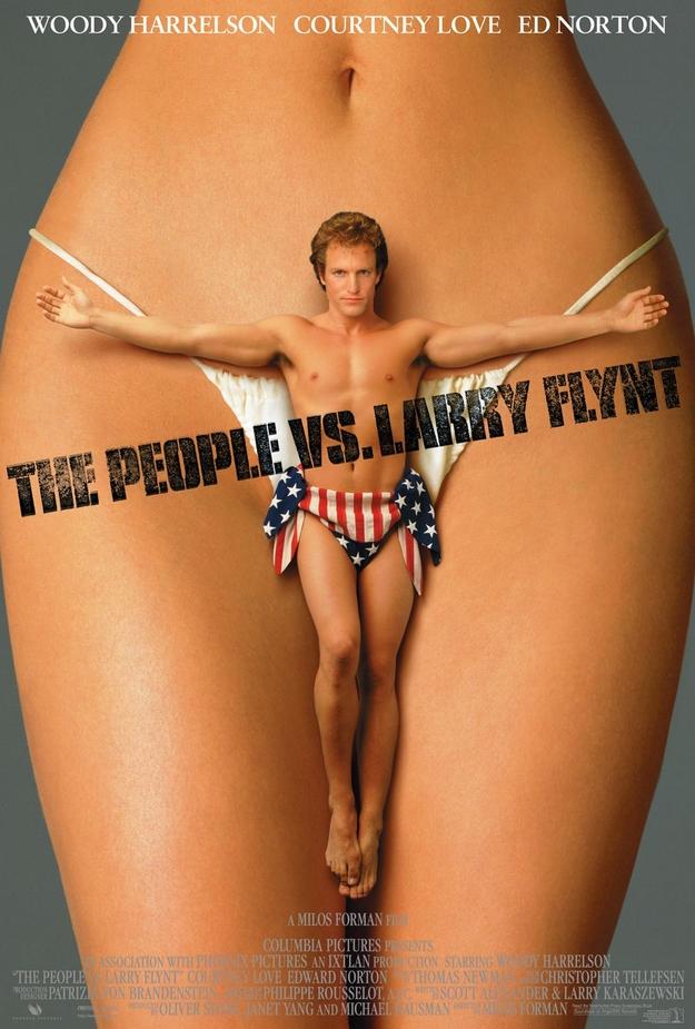 Larry Flynt - affiche