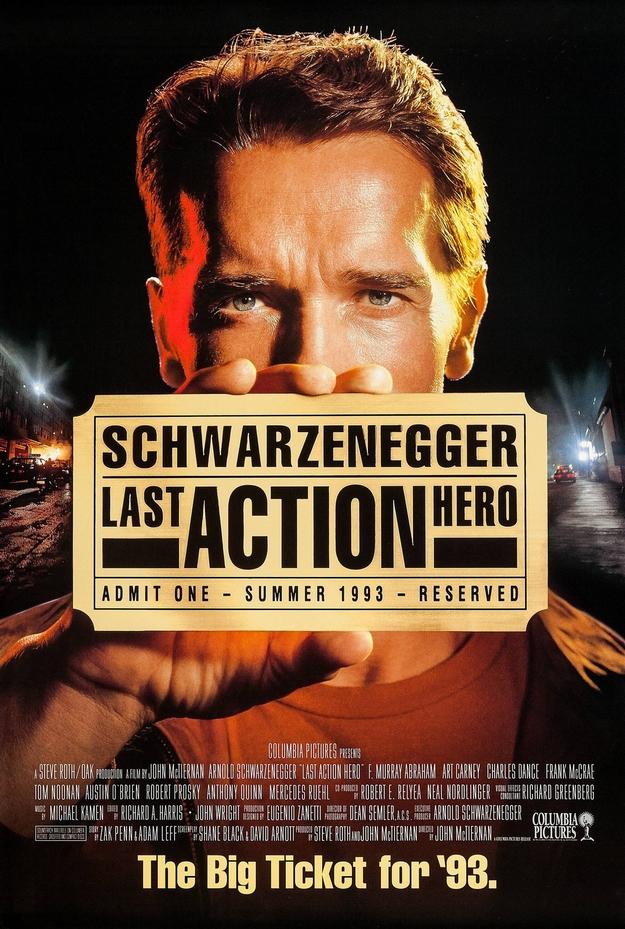 Last Action Hero - affiche