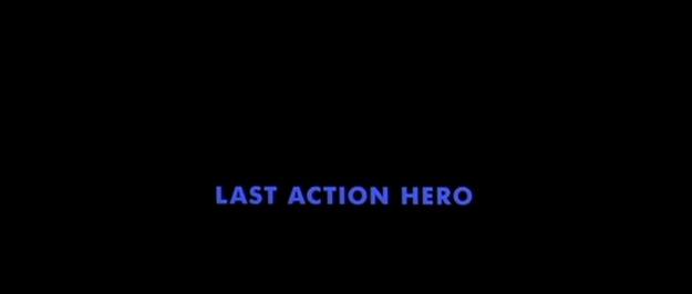 Last Action Hero - générique