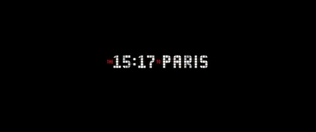 Le 15h17 pour Paris - générique