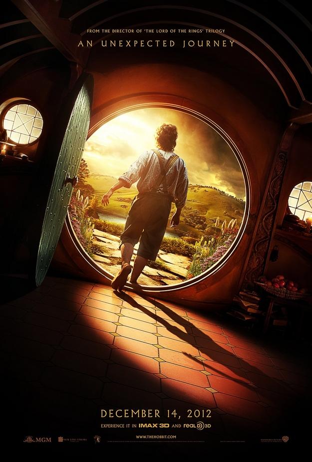 Le Hobbit un voyage inattendu - affiche