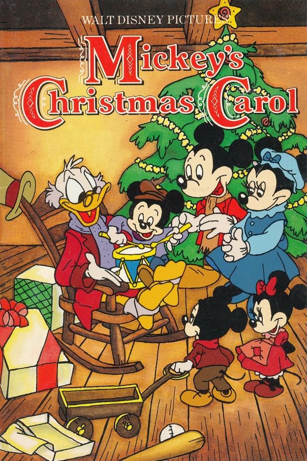 Le Noël de Mickey - affiche