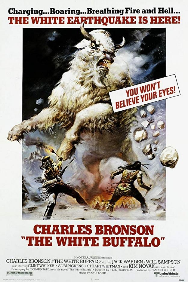 Le bison blanc - affiche