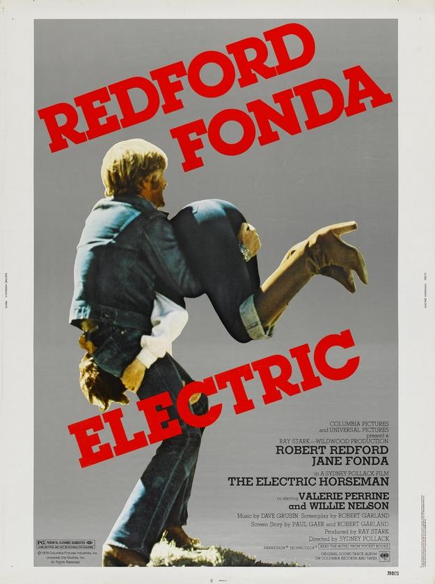 Le cavalier électrique - affiche