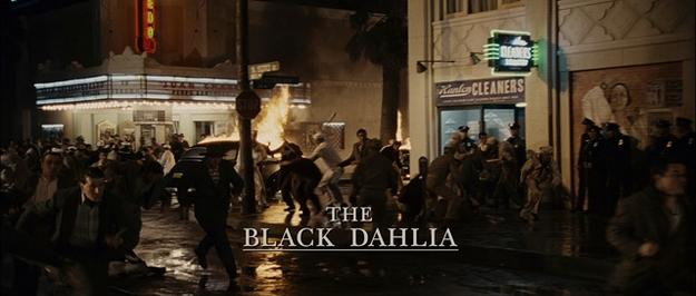 Le dahlia noir - générique