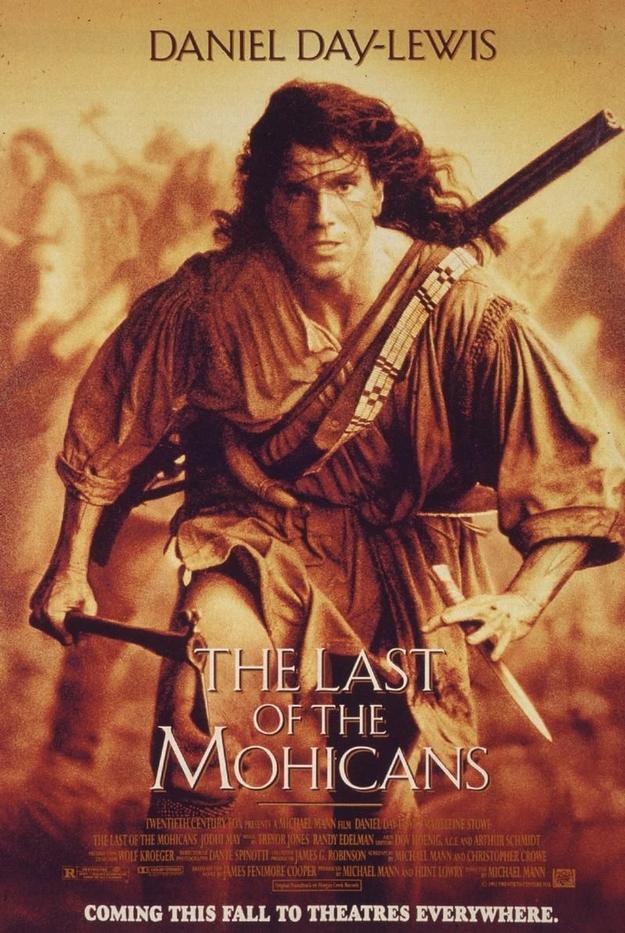 Le dernier des Mohicans - affiche