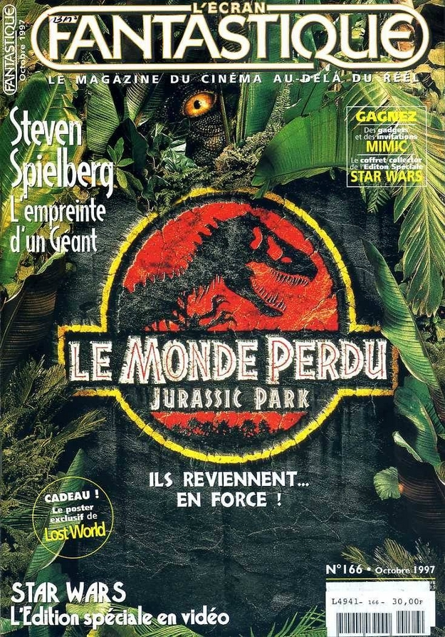 Le monde perdu Jurassic Park - L'Écran Fantastique