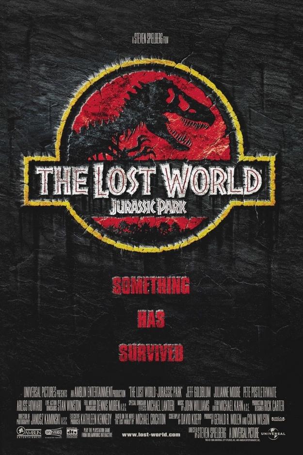 Le monde perdu Jurassic Park - affiche