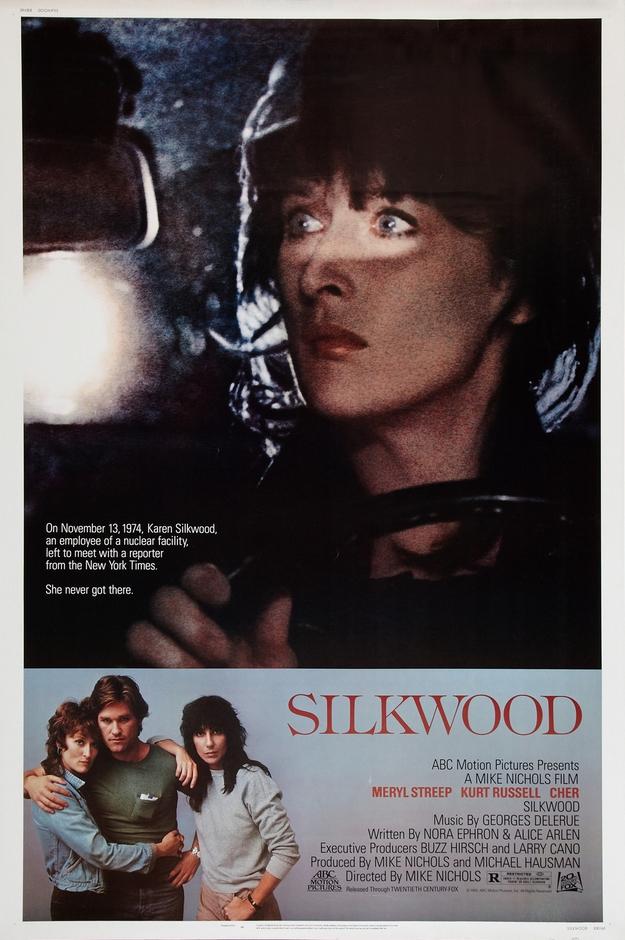 Le mystère Silkwood - affiche