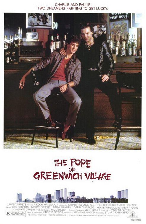 Le pape de Greenwich Village - affiche