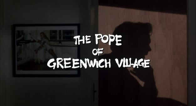 Le pape de Greenwich Village - générique