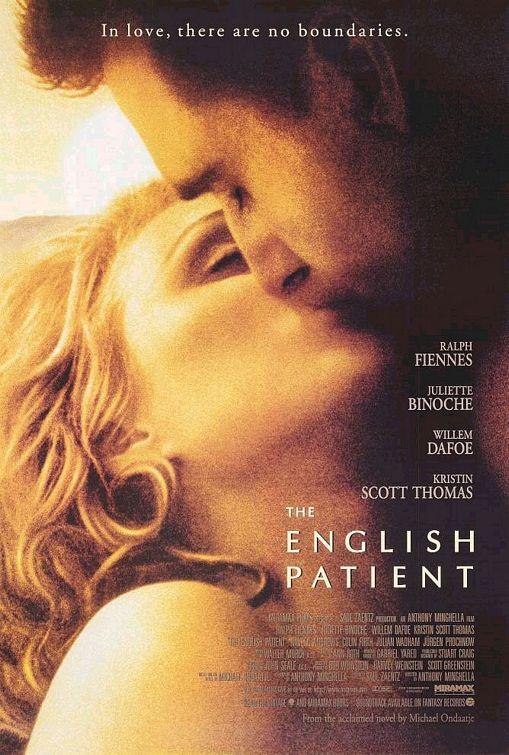Le patient anglais - affiche