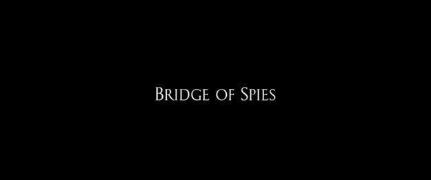 Le pont des espions - générique