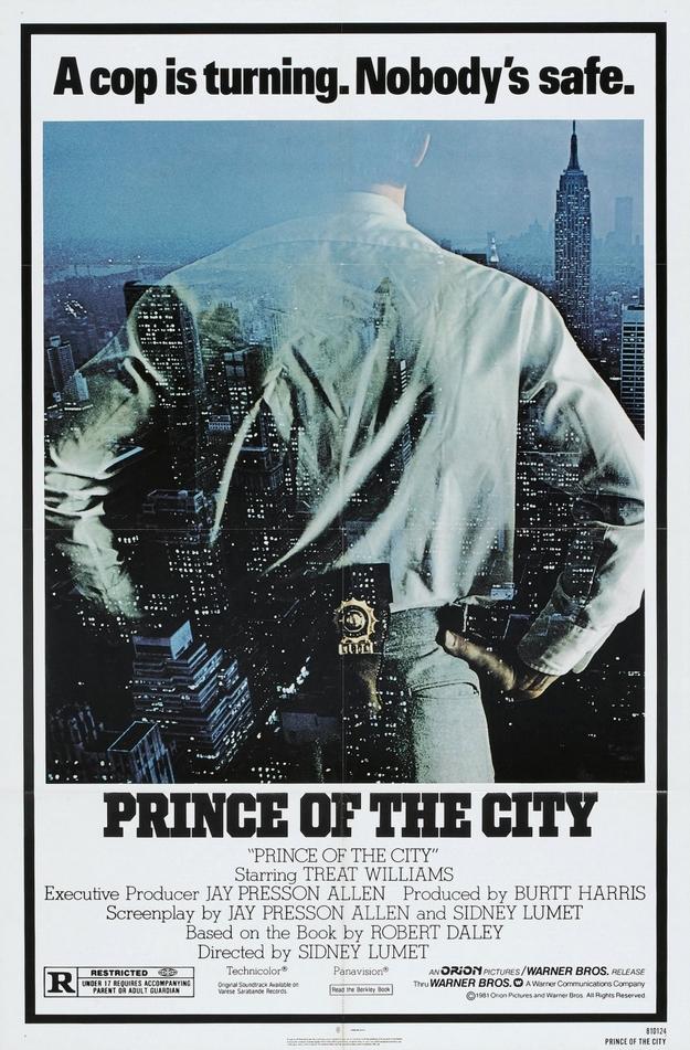 Le prince de New York - affiche