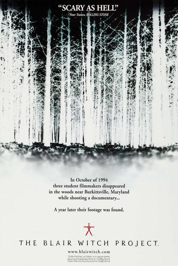 Le projet Blair Witch - affiche