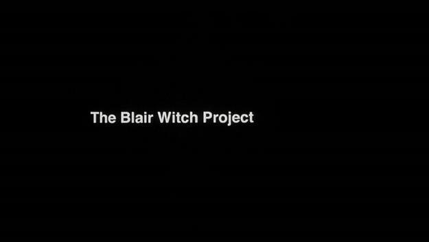 Le projet Blair Witch - générique