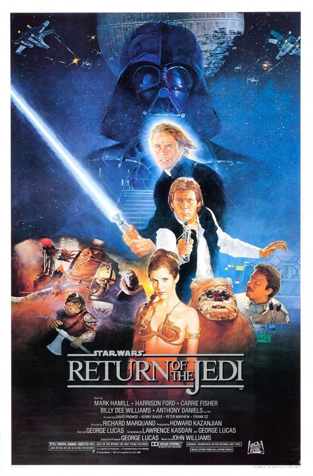 Le retour du Jedi - affiche