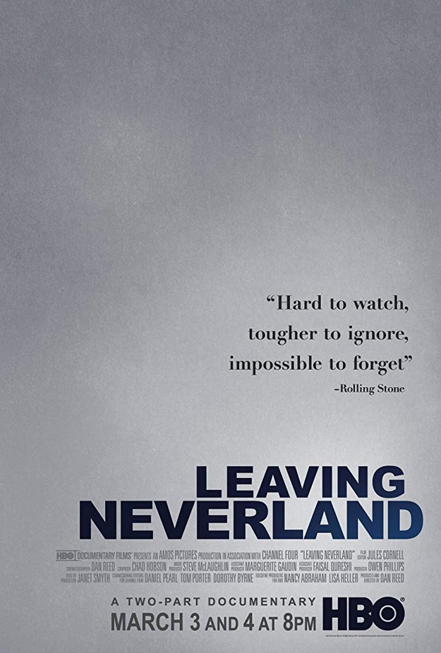 Leaving Neverland - affiche
