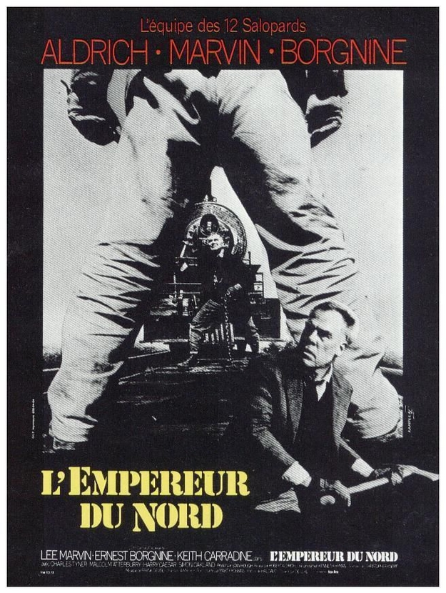 empereur du Nord - affiche française