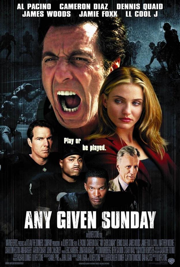 enfer du dimanche - affiche