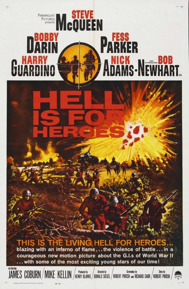 enfer est pour les héros - affiche