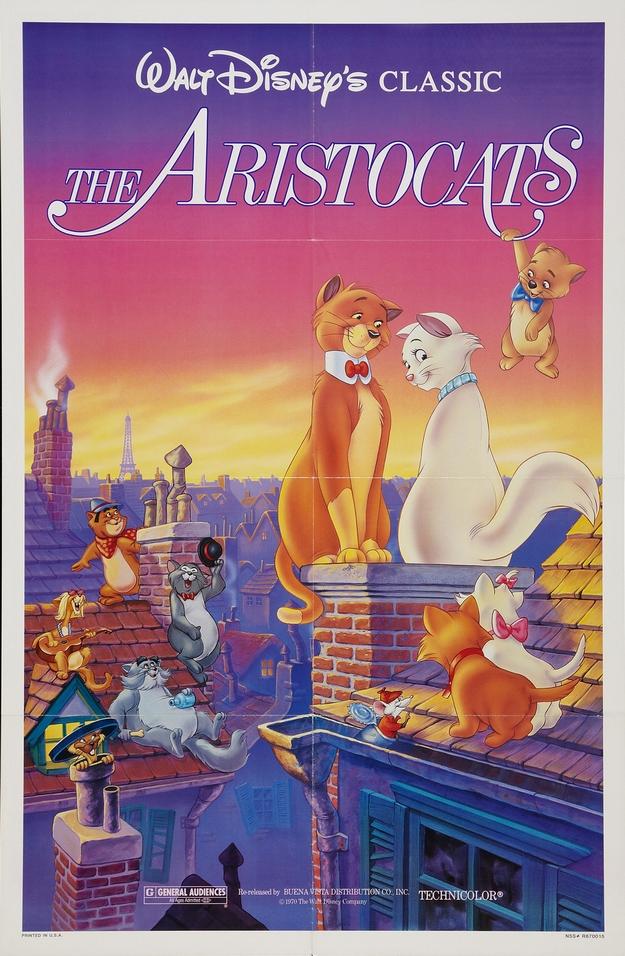 Les Aristochats - affiche