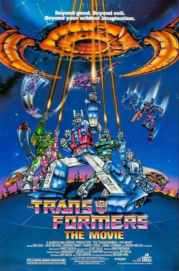 Les Transformers le film - affiche