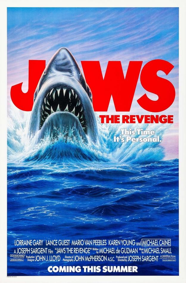 Les dents de la mer 4 - affiche