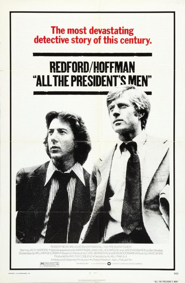 Les hommes du président - affiche