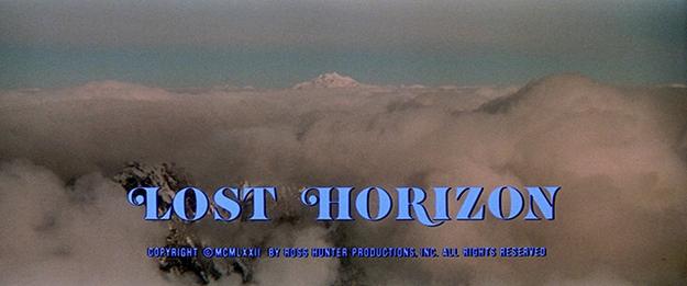 Les horizons perdus - générique