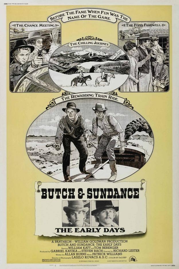 Les joyeux débuts de Butch Cassidy - affiche