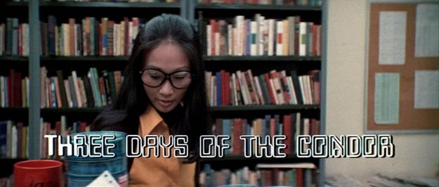 Les trois jours du Condor - générique