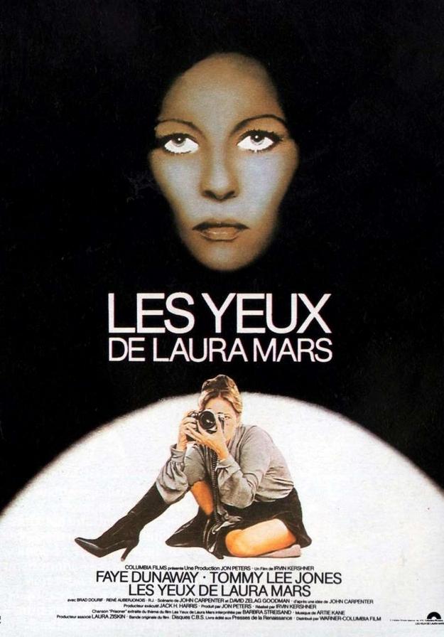 Les yeux de Laura Mars - affiche française