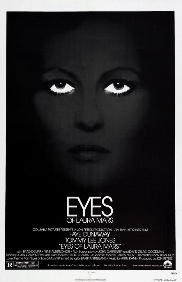 Les yeux de Laura Mars - affiche