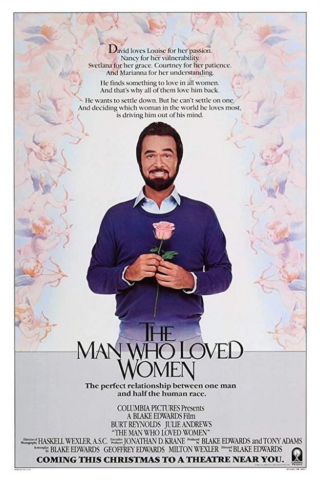 homme à femmes - affiche