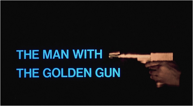 homme au pistolet d'or - générique