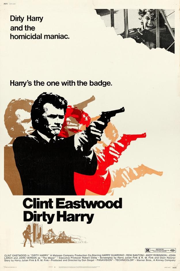 inspecteur Harry - affiche