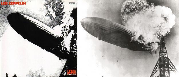 odyssée du Hindenburg - Led Zeppelin