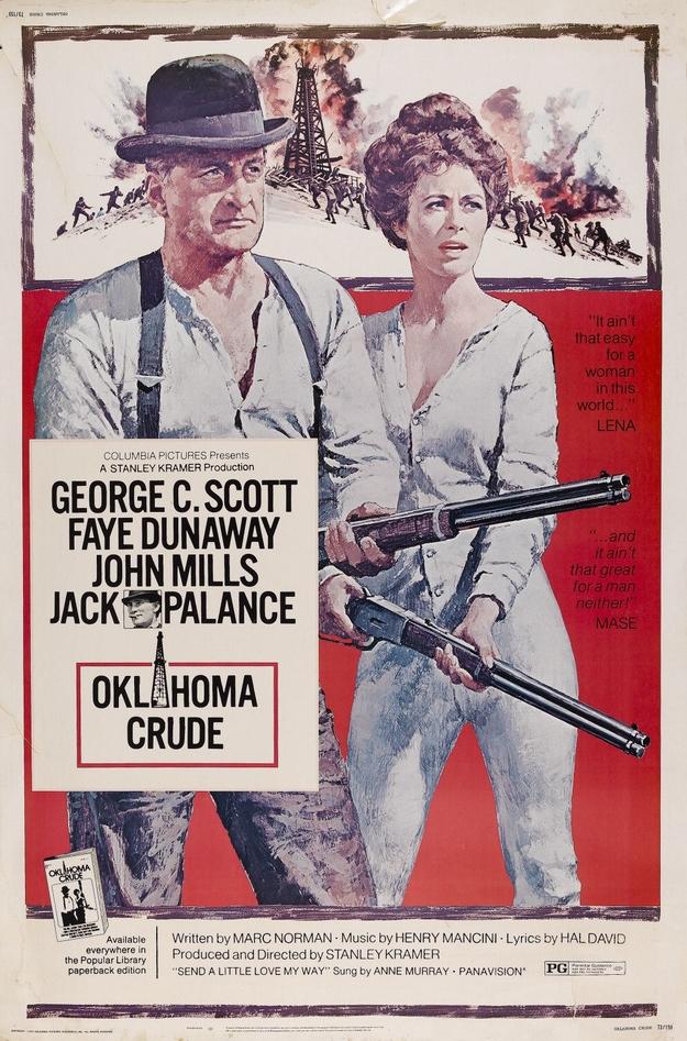 or noir de l'Oklahoma - affiche