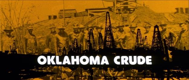 or noir de l'Oklahoma - générique