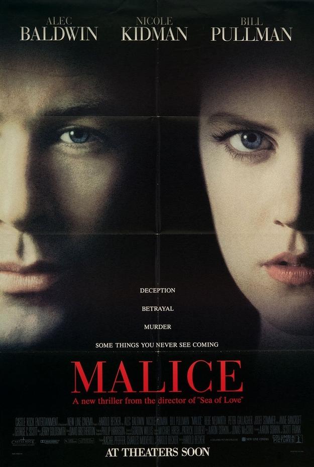 Malice - affiche