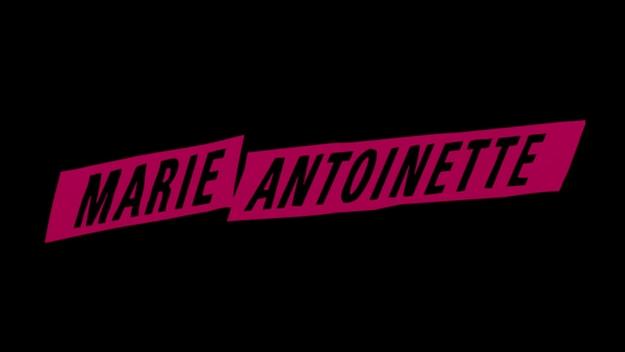 Marie Antoinette - générique