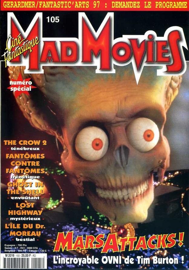 Mars Attacks - Mad Movies