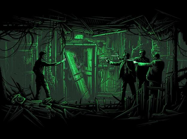 Matrix - Dan Mumford