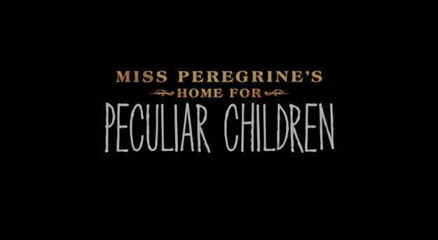 Miss Peregrine et les enfants particuliers - générique